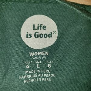 Life Is Good Tops - Women's Life Is Good Shirt Large
